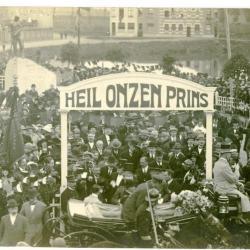 De Franse militaire begraafplaats in de beginjaren