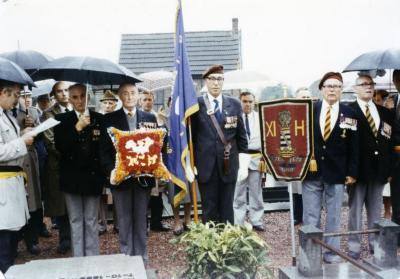 Herdenking 11th hussars Olsene