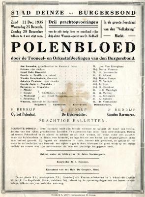 """""""Polenbloed"""""""