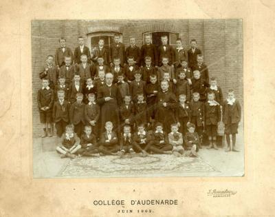 Edgar Gevaert op school